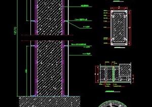 铝塑板包梁、包柱节点图