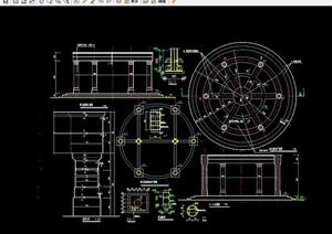 欧式风格拱廊设计cad施工图