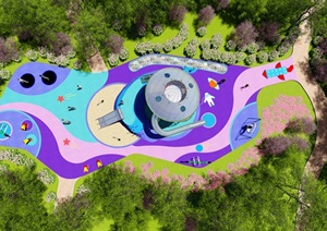 原飞碟场地设计方案初步意向设计