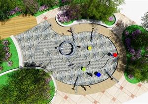 儿童戏水场地设计初步方案
