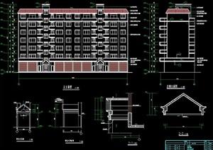 多层住宅楼建筑及结构施工图纸