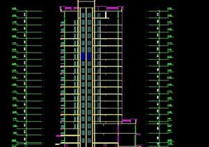 高层居住小区建筑方案及总体规划图纸