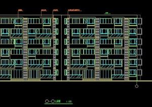 某小区6层住宅楼建筑设计施工图纸