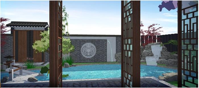 新中式庭院(5)