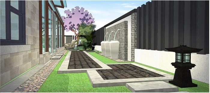 新中式庭院(6)
