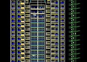 某小区高层住宅楼设计施工图