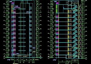 某独栋小高层住宅建筑施工图