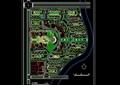 某详细居住小区规划设计cad方案图