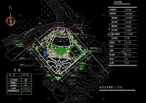 某交通局的建筑及景观规划cad方案图