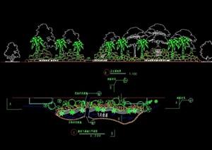 假山水景设计cad施工图