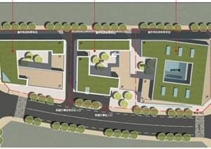 某幼儿园(9班 CAD 效果图)