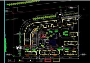 可利园住宅小区规划CAD图