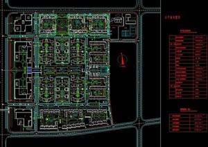 某住宅详细的小区景观设计cad总图