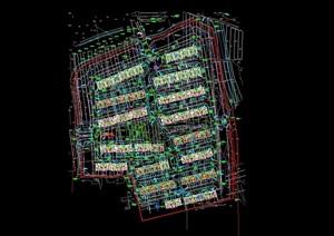 详细的建筑小区住宅景观规划cad方案