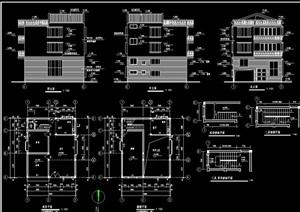 某多层住宅建筑cad施工图