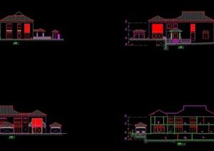 某详细的豪华别墅cad方案
