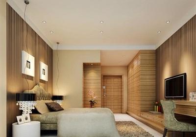 详细的完整整体卧室装饰设计3d模型