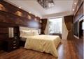 某整体详细的卧室装饰设计3d模型