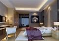 现代详细卧室装饰空间设计3d模型