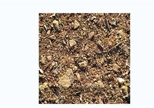 石子与泥土路面贴图