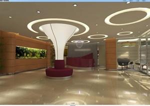 某医疗机构医院含CAD施工图+效果图+模型