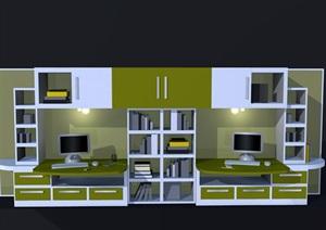 室内柜子经典设计SU(草图大师)模型