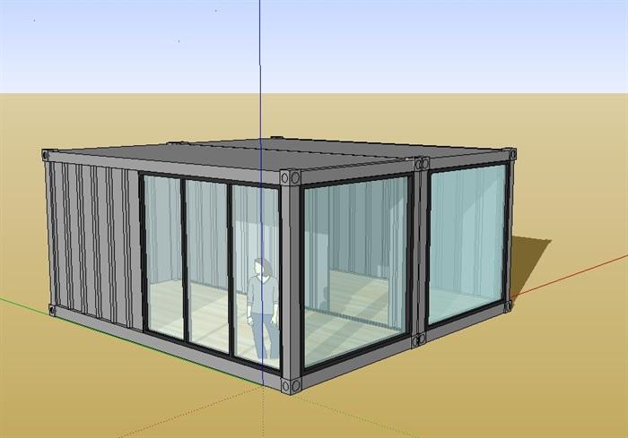 集装箱办公室设计图