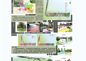 某完整的一套广场景观毕业设计方案