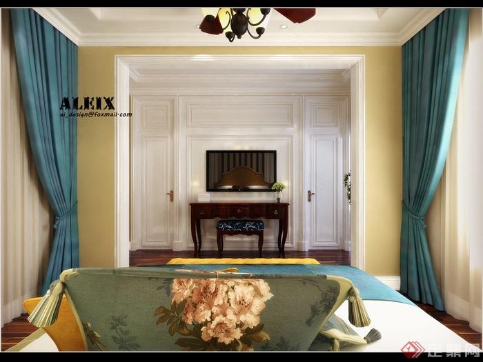 卧室,卧室装饰,卧室空间,卧室床
