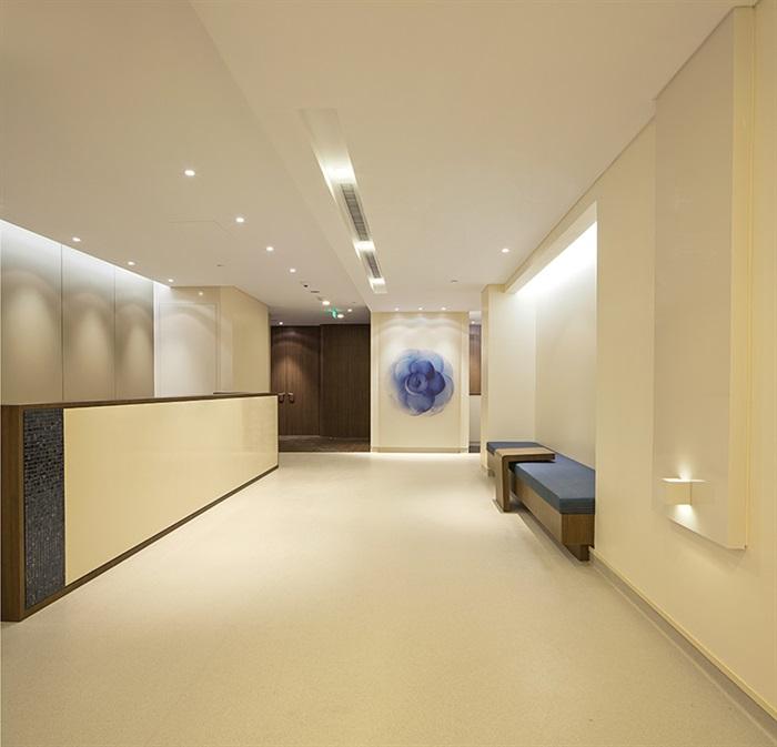 某物业办公室室内空间设计cad施工图含ppt方案