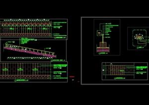 台阶踏步设计cad施工图
