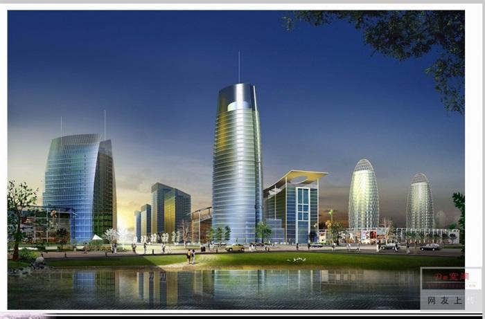 泉州市鲤城区江南新区次中心城市规划设计pdf方案(4)