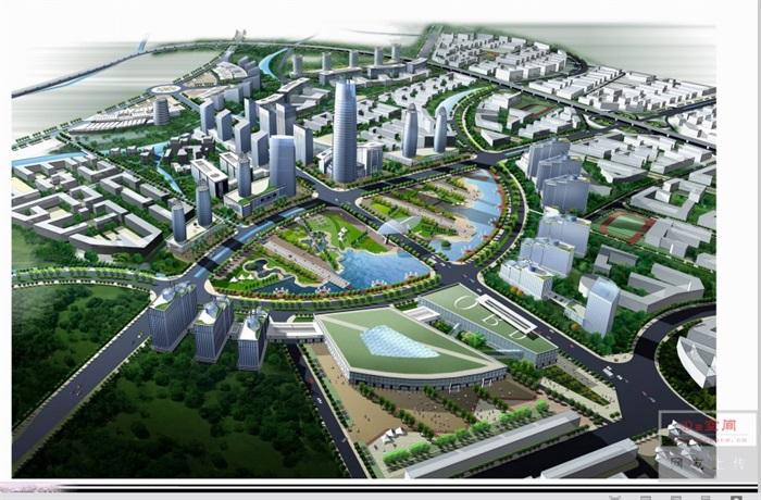 泉州市鲤城区江南新区次中心城市规划设计pdf方案(3)