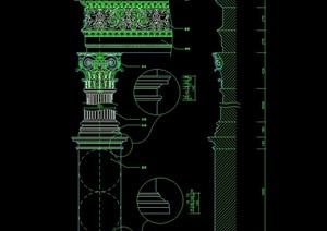 施工图常用CAD图块之柱