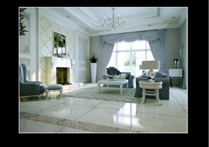欧式别墅cad施工图附效果图及完工照片