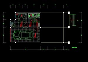 新古典风格别墅装修cad方案图(含实景)