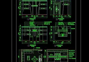 KTV装修室内CAD施工素材