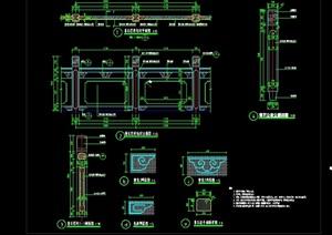 中式码头详细设计cad施工详图