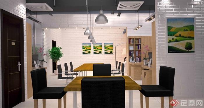办公室,办公桌椅,桌椅