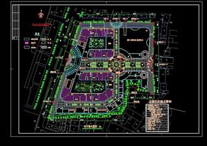 CAD多套小区规划设计