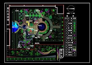 CAD广场园林图纸