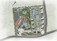 0624安溪士林夜市规划总平面图-灰度图