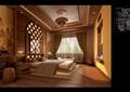 东南亚住宅室内设计cad施工图及效果图