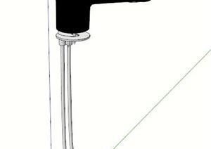 独特水龙头设计SU(草图大师)模型