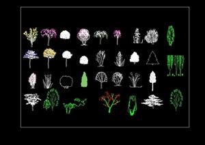 CAD植物素材图例