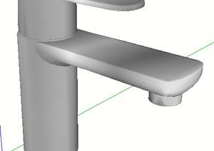 水龙头素材SU(草图大师)模型