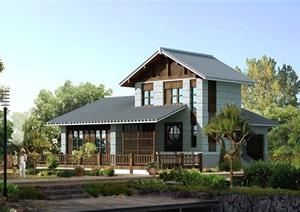 日式别墅详细设计cad方案