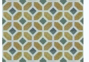 广场砖与拼花铺装贴图素材
