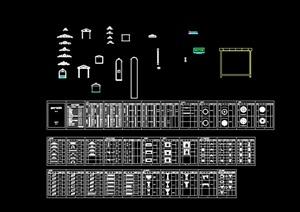 欧式建筑构件cad详图