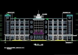 毕业设计—四层框架办公楼建筑设计图